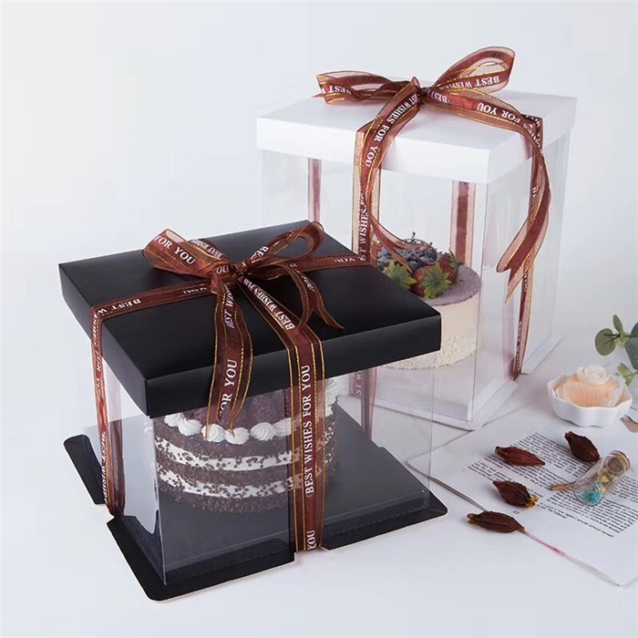 Transparent cake box-Xiang Hong [large quantity favorably] -How much is the transparent cake box